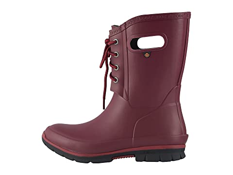 Eye BlackBurgundy Boot 4 Amanda Bogs YqUSfwp