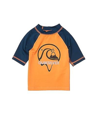 Quiksilver Kids Bubble Dreams Short Sleeve (Toddler/Little Kids) (Nectarine) Boy