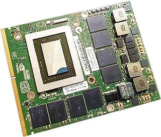新しいfor NVIDIA GeForce GTX 580M GDDR5 2GB Graphics Cardグラフィックボード、for Alienware M15X R1 R2 M17X R1 R2 R3 M18X R1ゲーミングノートパソコン...