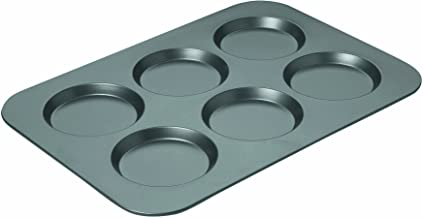 Chicago Metallic 16640 Professional Non-Stick Muffin Top Pan, 15.75-Inch-by-11-Inch Grey