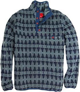 Southern Proper Forest Pullover in Blue Stone Final Sale