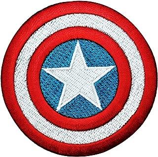 Captain America Shield IronOn Patch DIY Hero Craft Apparel Accessory Applique