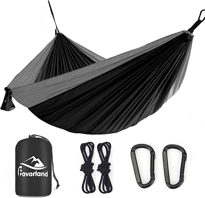 Favorland Camping Hammock - Most Reliable Ropes