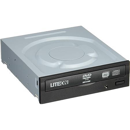 LITEON 内蔵用スーパーマルチドライブ ブラックベゼル DVD±R24倍速書き込み対応 ソフト付 BOX IHAS324-17