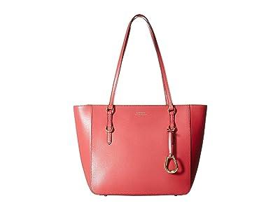 LAUREN Ralph Lauren Bennington Shopper Medium (Raspberry Gelato) Handbags