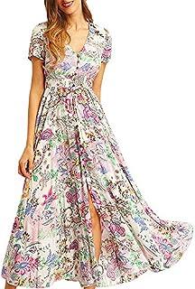 b9a8e868c864f Amazon.es: vestidos largos casual tallas grandes