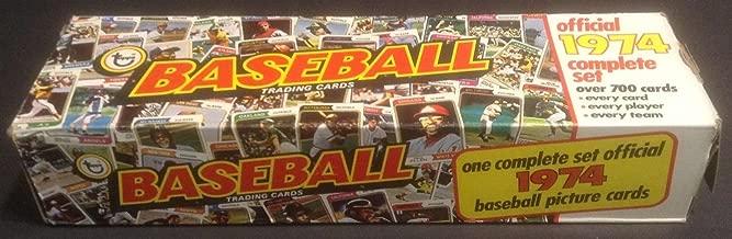 1974 topps baseball factory set