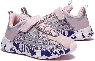 koppu أطفال أحذية الجري بنات بنين المشي أحذية عادية أزياء رياضية خفيفة الوزن تنفس أحذية رياضية