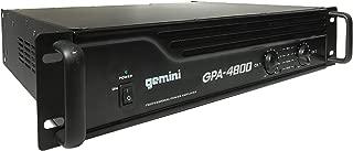 Gemini GPA-4800 4000W Professional DJ Power Amplifier