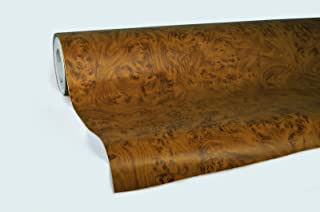 VViViD Knotty Maple Wood Grain Architectural Vinyl Wrap Roll (1.49 Foot x 48 Inch)
