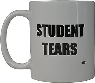 Funny Teacher Gift Coffee Mug Best Teacher Student Tears Novelty Cup Gift Idea For Teachers