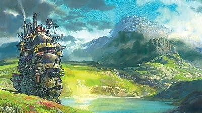 View Studio Ghibli Landscape Watercolor JPG