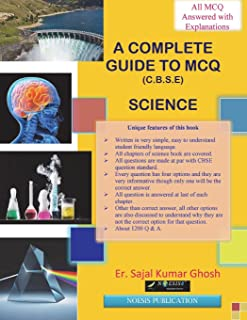 A Complete Guide to MCQ (Science).: CBSE Class 10 examination.