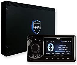 $479 » Sponsored Ad - wet sounds WS-MC1: Marine Media System with Full-Color LCD Display, Bluetooth, 4-Zone Control (Renewed)