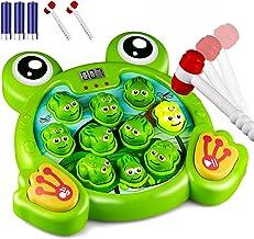 KKONES Music Super Frog Game Toddler Toys - 2 Hammers Baby I