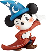 Miss Mindy Sorcerer Mickey Mouse Figurine, Resin, Multi-Colour, 140 x 80 x 140 cm