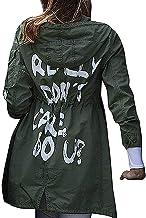 Melania Trump I Really Dont Care Do You Jacket - Graffiti Slogan I Dont Care Army Green Mechanic Cargo Jacket