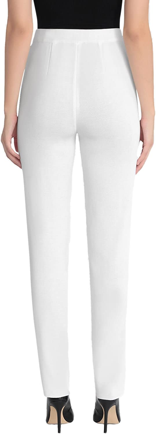 Misook Straight Leg Knit Pant At Amazon Women S Clothing Store