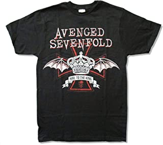 Avenged Sevenfold Crown Hail to The King Black T Shirt