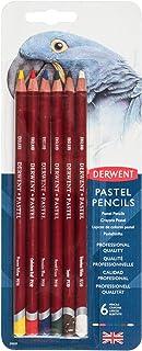 Derwent 39009 Pastel Pencils, 6-Pack