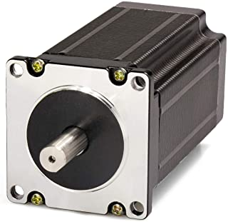 Nema 23 Stepper Motor 4.2A 3.0Nm (425oz.in) 100mm Length for CNC Mill Lathe Router with 8mm Shaft