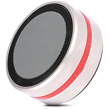 Portable Bluetooth Speaker With Stunning Stereo Sound Rotary
