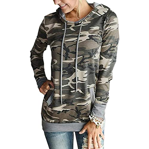 83b92a5099 Womens Floral Hoodie Long Sleeve Drawstring Hooded Sweatshirt Pullover  Jumper with Pocket
