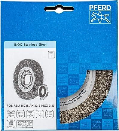PFERD Rundbürste, ungezopft POS RBU 15038 AK32-2 INOX 0,30 B07N2XTZ4R | Primäre Qualität