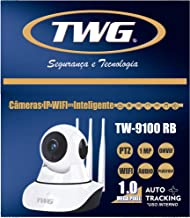 Câmera Ip Wifi 3 Antenas 4ª Geração Infra Vermelho Robo Onvif TWG TW9100 RB