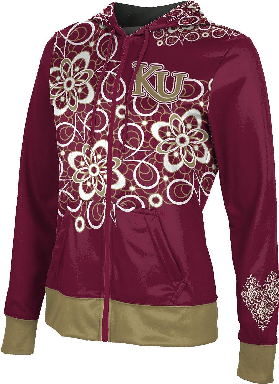 ProSphere Kutztown University Girls' Zipper Hoodie, School Spirit Sweatshirt (Foxy)