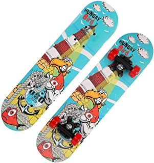Mini Complete Skateboard-Beginner Skateboard 23.6 Inch Anime Fishing Master Osprey Pattern Children Skateboard Pop Skateboard Cruiser Suitable for Children Over 3 Years Old