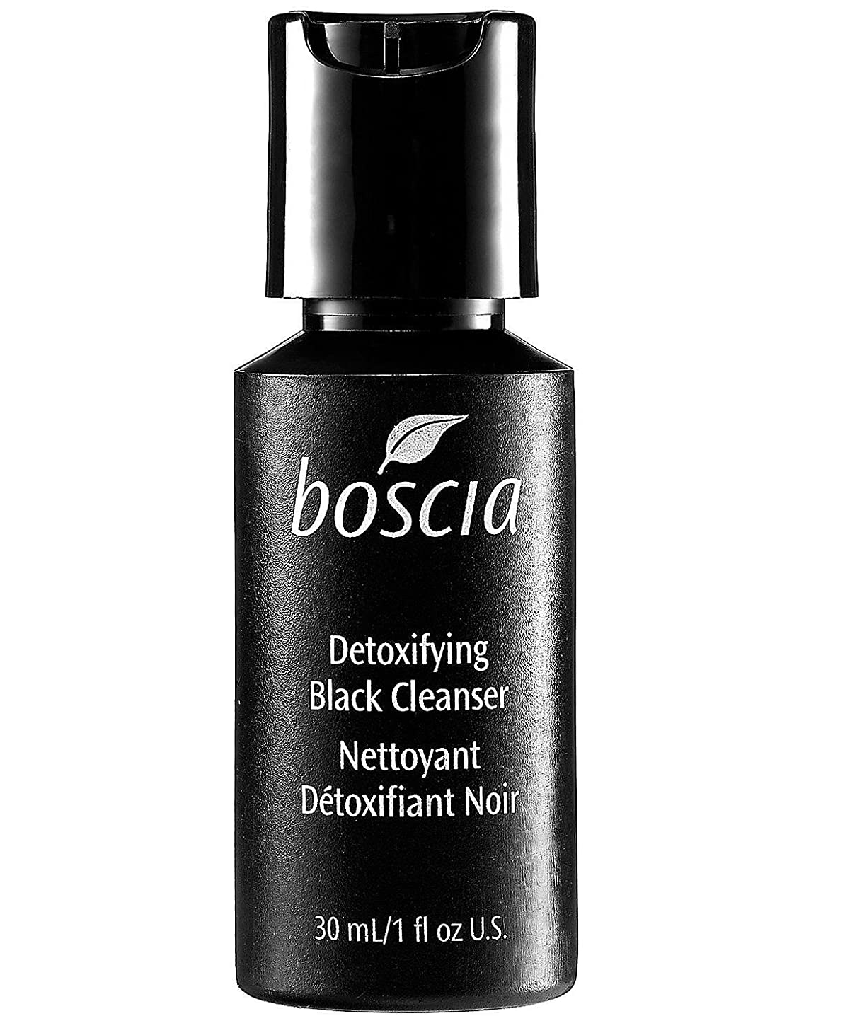 準備分離かんがいBoscia Detoxifying Black Cleanser Deluxe Mini (30ml) by boscia