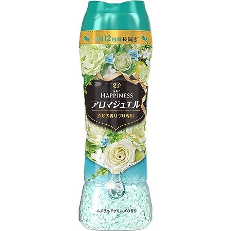 レノア ハピネス アロマジュエル ビーズ 衣類の香りづけ専用 エメラルドブリーズ 本体 520mL