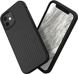 RhinoShield [iPhone 12 Mini] | SolidSuit ケース - 3.5mの落下衝撃からも保護 マット加工でスタイリッシュなデザイン - カーボンファイバー
