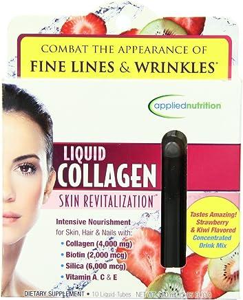 Colageno Liquido Hidrolizado Con Vitamina A y C - Colageno Natural Para La Cara Y Piel