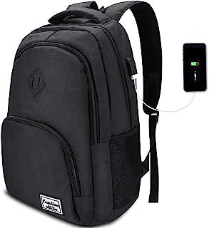 Zaino Porta PC Portatile da 15.6 Pollici,Unisex Zaino Laptop con Porta USB Zaino Scuola Zaino Computer per Donne e Uomo,35L