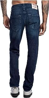 True Religion Men's Geno Slim Fit No Flap Denim Jeans