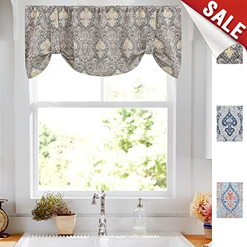 Magnificent Vintage Kitchen Curtains Amazon Com Home Remodeling Inspirations Cosmcuboardxyz