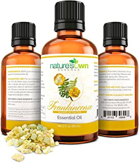 Real Frankincense Essential Oil - 100% Pure Natural Undiluted, Therapeutic Grade for Aromatherapy Diffuser, Relaxation, Im...