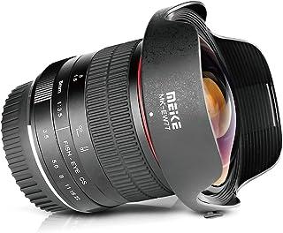 Meike Optics MK 8mm f3.5 - Obiettivo Fisheye ultra grandangolare per Canon EF Mount