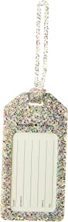 Kate Spade New York Women's Off We Go Multi Glitter Luggage Tag