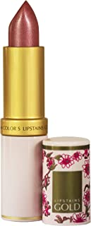 Lipstains Gold All-In-One Lipstick - Super Rich Conditioning Ingredients, Amazing Staying Power, Smudge Proof and a Diverse Color Range - From the UK (Sweet Apricot)