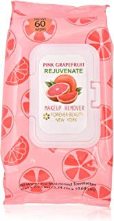 Forever Beauty Makeup Removing Wipes Face Cleaning Fragrant, 60 Count, Alcohol Free