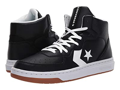 Converse Rival Mid (Black/White) Men
