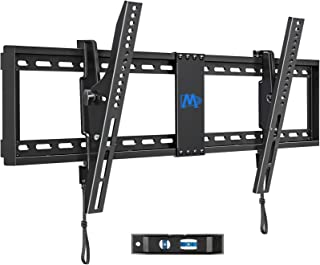 "Mounting Dream TV Wall Mount for 42-86"" TVs, Tilting TV Mount with Level Adjustment Fits 16-24"" Wood Studs Easy for TV Cen..."