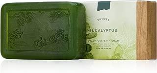 Thymes - Eucalyptus Luxurious Bath Soap - Naturally Conditioning Bar Soap with Eucalyptus Oil and Vitamin E - 6 ounce