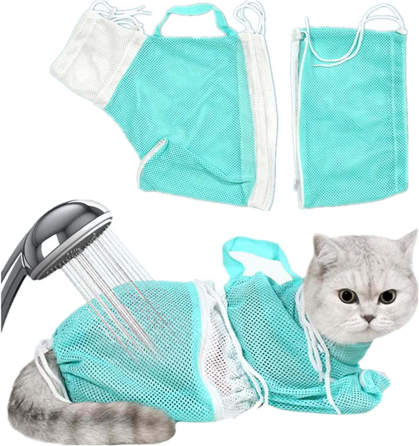 Cat Bathing Bag Free Shipping New Carrier Detachable Max 79% OFF and to Adjustable Size in