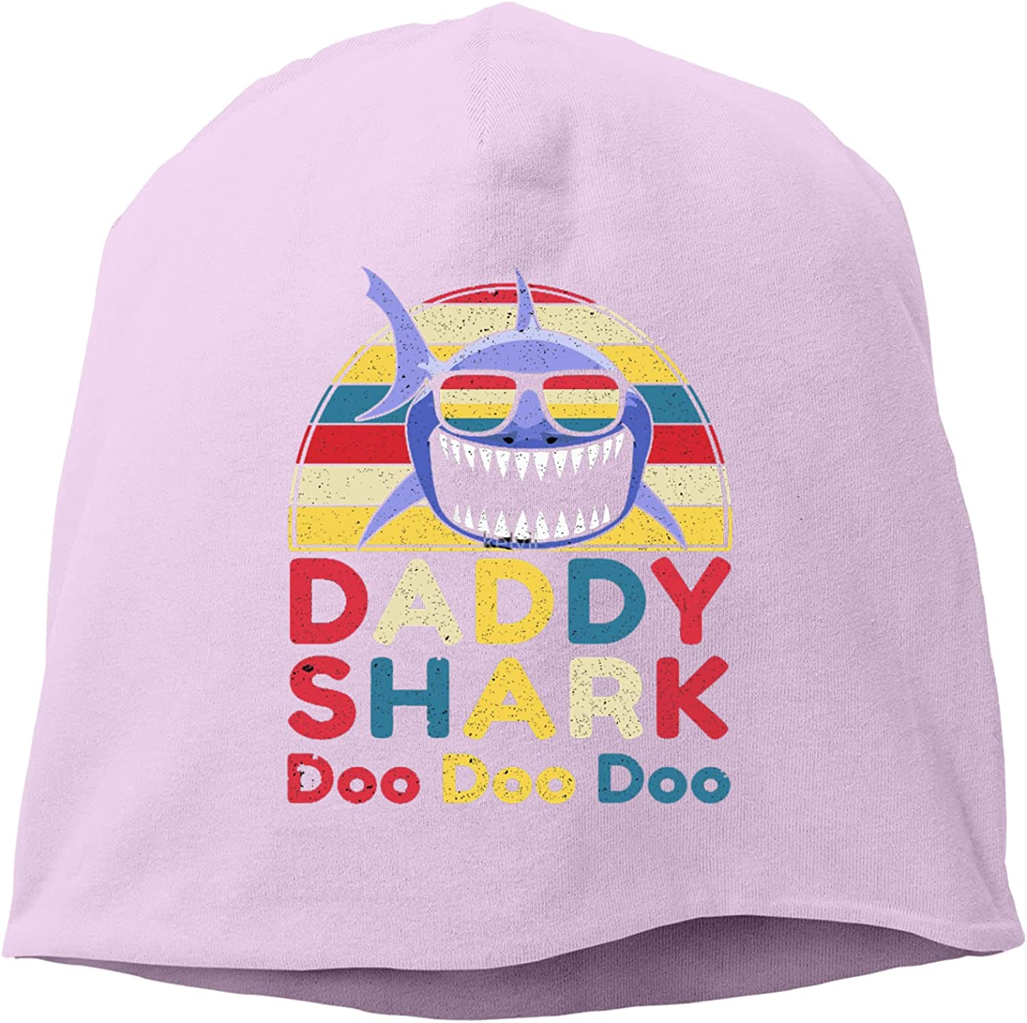 Daddy Shark Gift for Dad Adj Hedging Challenge the lowest price of Japan ☆ Cap Max 54% OFF Knitted Hat,Unisex