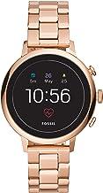 Fossil Women's Gen 4 Venture HR Stainless Steel Touchscreen Smartwatch with Heart..