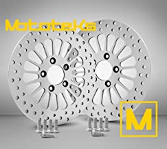 11.8 Front Brake Stainless Steel Rotors w/ Hardware for Harley Davidson Touring Bagger Models fits 2008 Above